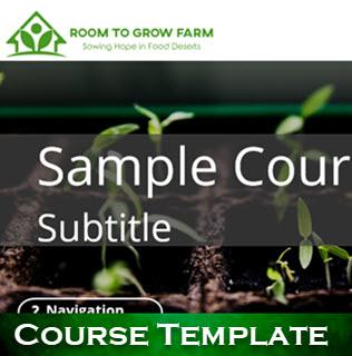 Sample Course Template
